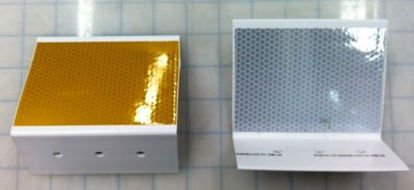 Picture of Concrete Jersey Barrier Reflectors - Double Sided