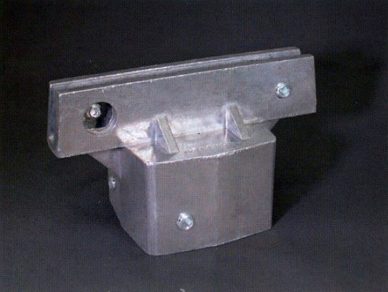 Picture of Universal post cap for flat signs 512unf200