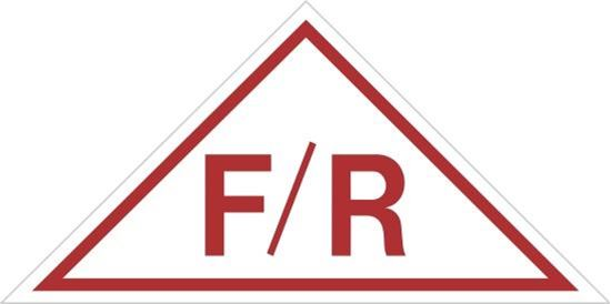 Picture of Roof Truss Sign F/R