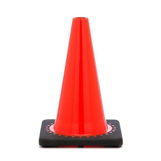 """Picture of 12"""" Cone Orange Non-Reflective"""