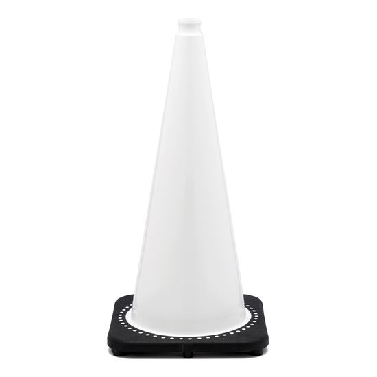 "Picture of 28"" Cone White Non-Reflective"