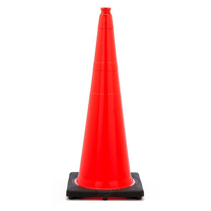"""Picture of 36"""" Cone Orange Non-Reflective"""