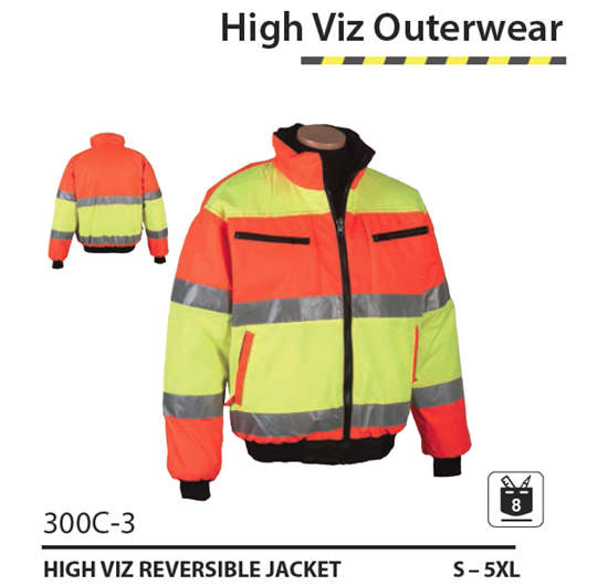 Picture of Reversible Hi-Vis Jacket