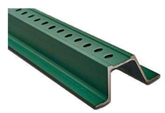 Picture of 12 Ft. Steel Channel Post Green