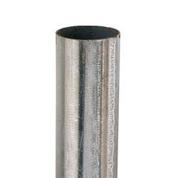 """Picture of 10 Ft. Galvanized Round Post Silver - 2.375"""""""