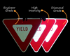 "Picture of 36"" Yield Sign"