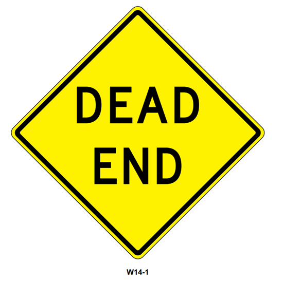 "Picture of 30""x30"" Dead End"