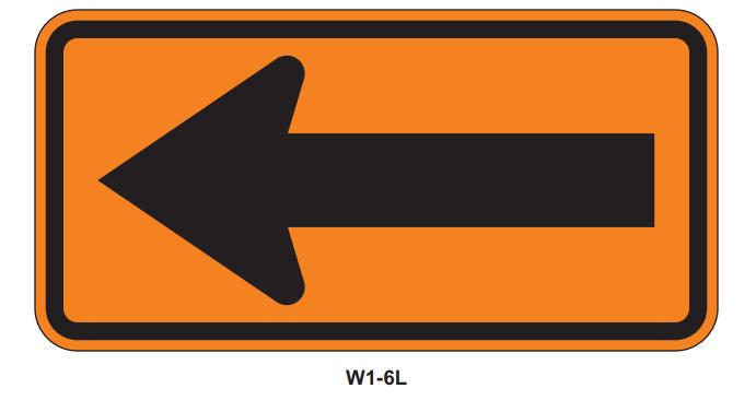 "Picture of 48""x24"" Arrow Symbol"