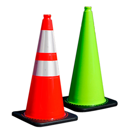 "Picture of 28"" Traffic Cones"