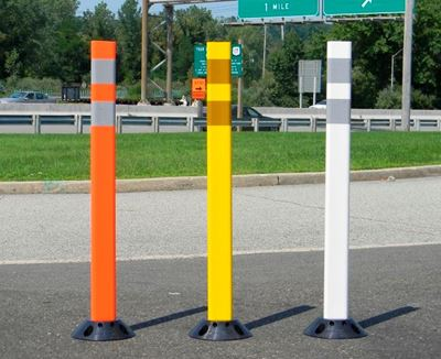 Delineating Posts for Pedestrian and Driver Safety