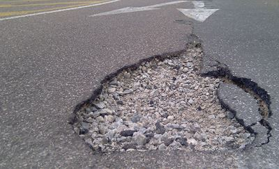 Now's the Time for Repairing Winter Road Damage