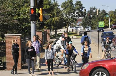 College Campuses Pose Safety Risks for All Roadway Users
