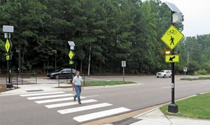 Innovations in Pedestrian Crosswalk Safety
