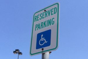 Handicap Parking Signs Ensure Accessibility for People with Disabilities