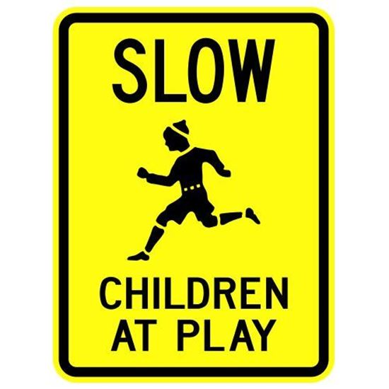 "Picture of 18""x24"" Slow Children at Play"