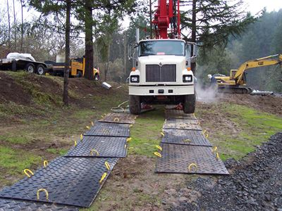 Ground Protection Mats vs Wood Boards – Learn the Pros and Cons