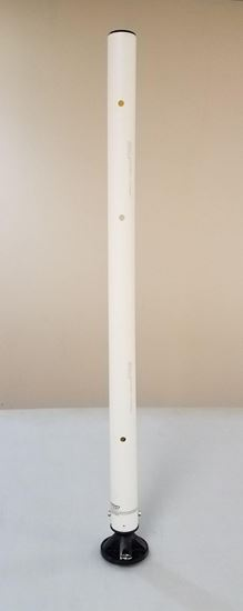 "Picture of Impact Recovery 42"" White Replacement Post"