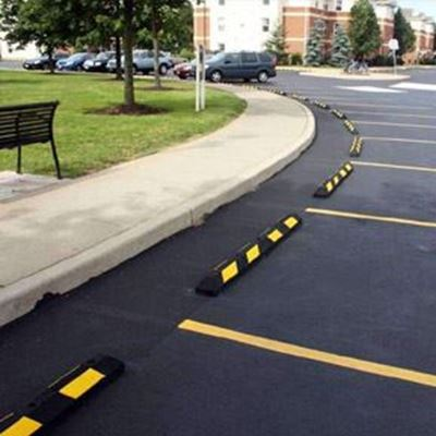 Rubber Curb Stops Are Ideal for Commercial and Home Use