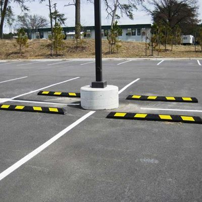 Rubber Curb Stops – Protect Against Damage Before It Occurs