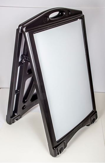 Picture of A-Plus Folding, Rolling Sign Holder