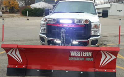 LED Snow Plow Lights Enhance Safety