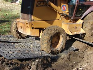 Ground Protection Mats for Heavy Equipment are Superior to Plywood