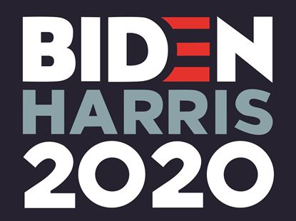 Picture of Biden Harris...24x18 Double Sided Coroplast Yard Sign