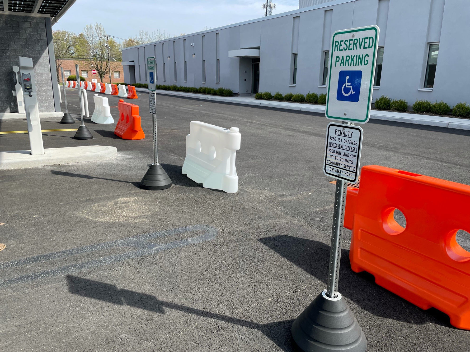 Picture of Water Fillable Barricades - Barrier