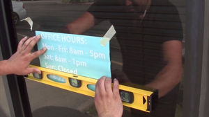 How to Put on a Window Decal: VIDEO